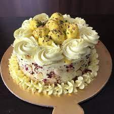 Kesaria Rasmalai Cake